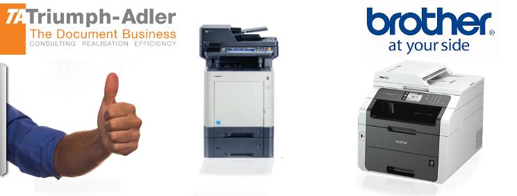 Ausgabesysteme - Drucker von Brother & Triumph-Adler