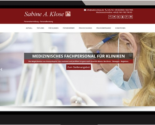 klose | Referenzen Webdesign IT COM LANGER