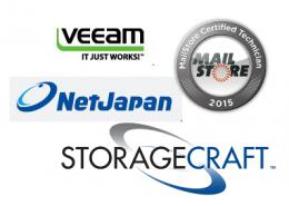 Veeam | NetJapan | StorageCraft | Mailstore | Datensicherung