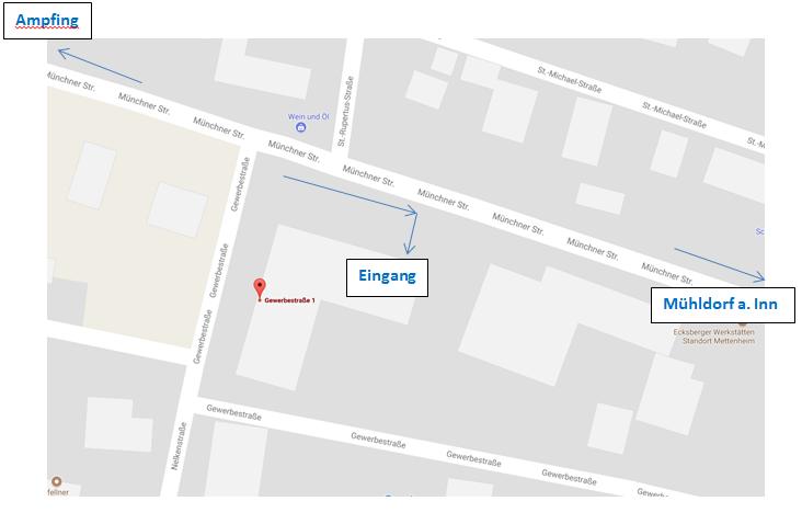 Kartenansicht Mettenheim | IT COM Langer GmbH