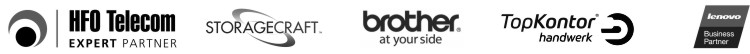 HFO Telecom | Storagecraft | Brother | TopKontor | Lenovo